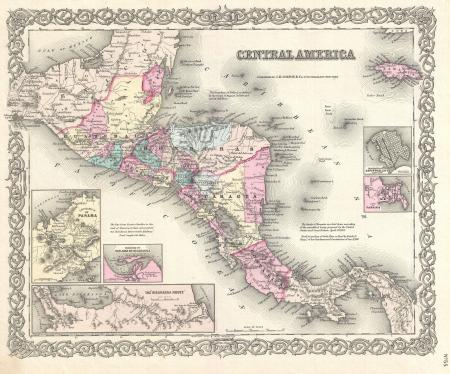 1855_Colton_Map_of_Central_America_and_Jamaica_-_Geographicus_-_CentralAmerica-colton-1855